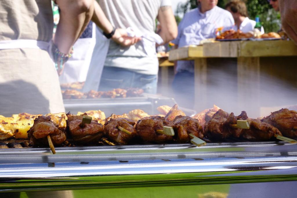 Barbecuearrangement vanaf 25 personen: €53,25 p.p.